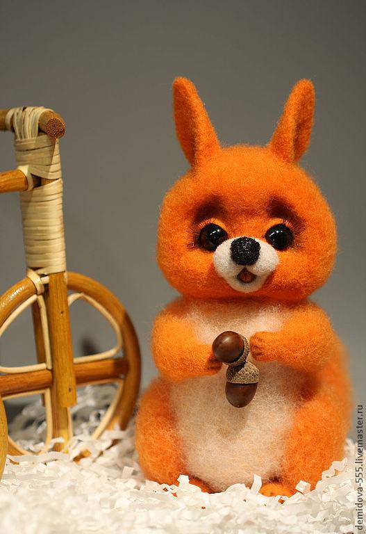 """Игрушки животные, ручной работы. Ярмарка Мастеров - ручная работа. Купить Белочка """"АЛИСА"""". Handmade. Рыжий, игрушки ручной работы"""