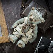 Куклы и игрушки ручной работы. Ярмарка Мастеров - ручная работа Хранитель воспоминаний. Мишка тедди, ретро, винтаж.. Handmade.