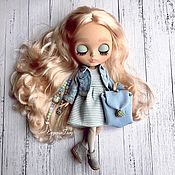 Кастом ручной работы. Ярмарка Мастеров - ручная работа Кукла ооак Блайз (custom blythe) ooak tbl кастом. Handmade.
