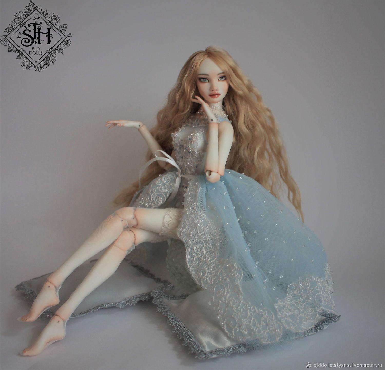 Оливия.Фарфоровая шарнирная кукла, Шарнирная кукла, Санкт-Петербург,  Фото №1