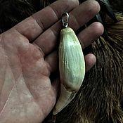 Фен-шуй и эзотерика handmade. Livemaster - original item Fang of the bear. Handmade.