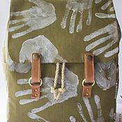 """Сумки и аксессуары ручной работы. Ярмарка Мастеров - ручная работа Рюкзак """"Всё в твоих руках"""". Handmade."""