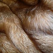 Чернобурка цвета бронзы