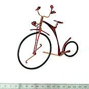 Куклы и игрушки ручной работы. Ярмарка Мастеров - ручная работа Велосипед из проволоки. Handmade.