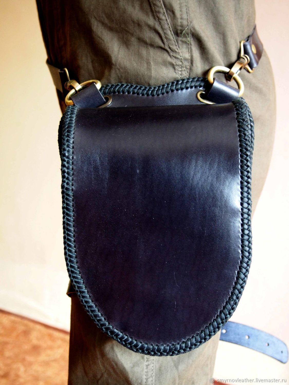 fa1982b03a00 Поясные сумки ручной работы. Ярмарка Мастеров - ручная работа. Купить  Поясная сумка минимализм.