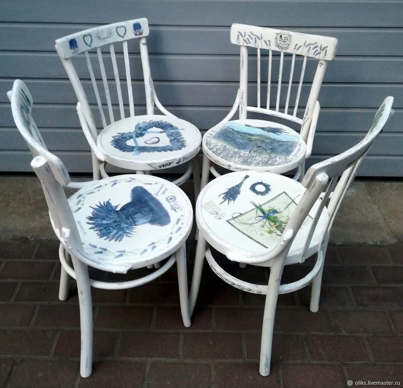 Деревянные стулья в стиле ПРОВАНС, Стулья, Москва,  Фото №1