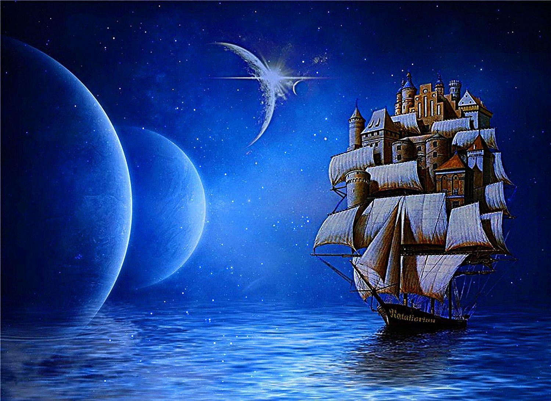 Картинки корабля сказочные