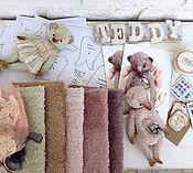 Материалы для творчества ручной работы. Ярмарка Мастеров - ручная работа Новый набор, мишка 15 см. Handmade.