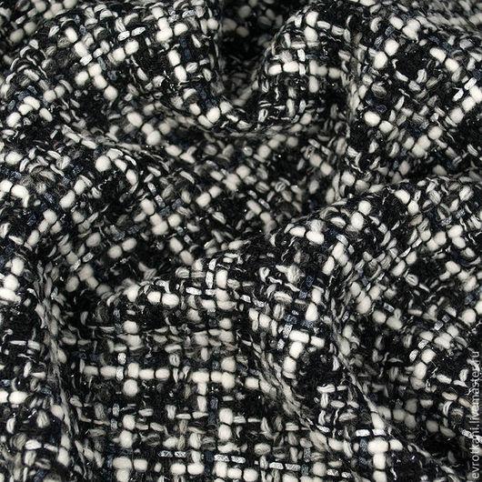 Шитье ручной работы. Ярмарка Мастеров - ручная работа. Купить Костюмная CHANEL оригинал.. Handmade. Разноцветный, жаккардовое платье