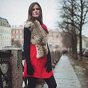 """Одежда ручной работы. Ярмарка Мастеров - ручная работа Пальто-жилет""""Северная Пальмира"""". Handmade."""