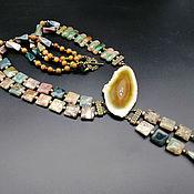 Украшения handmade. Livemaster - original item Two-row necklace