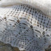 Аксессуары ручной работы. Ярмарка Мастеров - ручная работа шарф-палантин ажурный. Handmade.