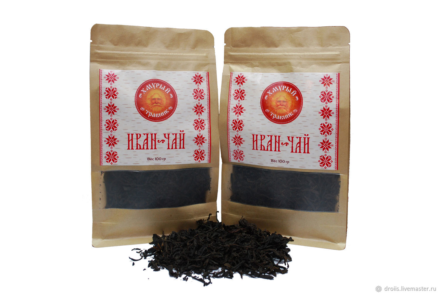 Ivan Fermented Tea Leaf 100 Gr