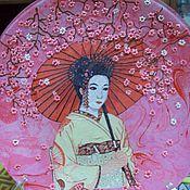 """Посуда ручной работы. Ярмарка Мастеров - ручная работа Тарелочка-""""Японочка"""". Handmade."""