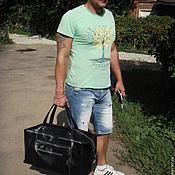 """Мужская сумка ручной работы. Ярмарка Мастеров - ручная работа Сумка мужская """"Спорт"""". Handmade."""