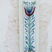 """Для дома и интерьера ручной работы. Ярмарка Мастеров - ручная работа Изразец""""Цветок прованс"""". Handmade."""