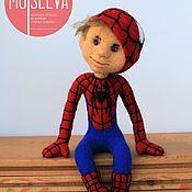 Куклы и игрушки ручной работы. Ярмарка Мастеров - ручная работа Человек Паук, кукла войлочная. Handmade.