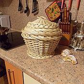 Для дома и интерьера ручной работы. Ярмарка Мастеров - ручная работа Хлебница круглая. Handmade.