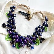 Украшения handmade. Livemaster - original item Necklace: Lesny yagoda. Handmade.
