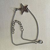 Украшения ручной работы. Ярмарка Мастеров - ручная работа браслет со звездой. Handmade.