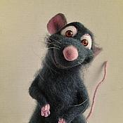"""Куклы и игрушки ручной работы. Ярмарка Мастеров - ручная работа Крысенок Реми, """"Рататуй"""". Handmade."""