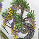 Деревья ручной работы. Ярмарка Мастеров - ручная работа. Купить Деревце из бисера, украшение для дома или офиса.. Handmade. Разноцветный