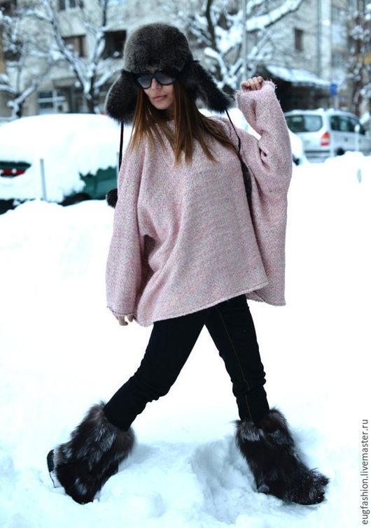 Розовое пальто. Оригинальное пальто. Ярмарка Мастеров - ручная работа.