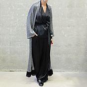 Одежда ручной работы. Ярмарка Мастеров - ручная работа Платье-халат-пальто Melange. Handmade.