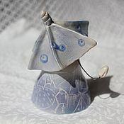 Сувениры и подарки ручной работы. Ярмарка Мастеров - ручная работа Колокольчик Летний дождь. Handmade.
