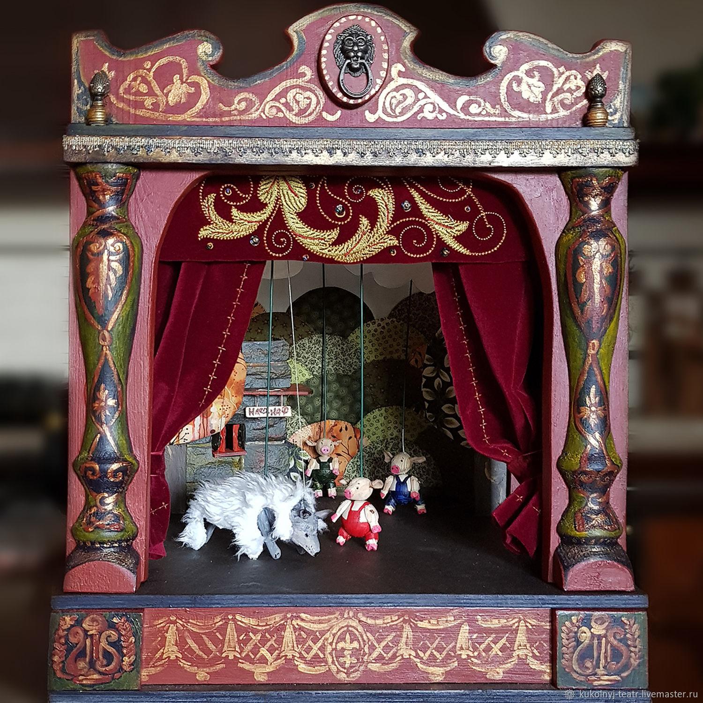 Детский кукольный театр, стилизованный под XVIII век, Кукольный театр, Москва,  Фото №1