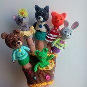 Куклы и игрушки handmade. Livemaster - original item Penlight theater mansion and Cottage-glove. Handmade.