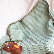 Для дома и интерьера ручной работы. Ярмарка Мастеров - ручная работа Винтажный плед. Handmade.