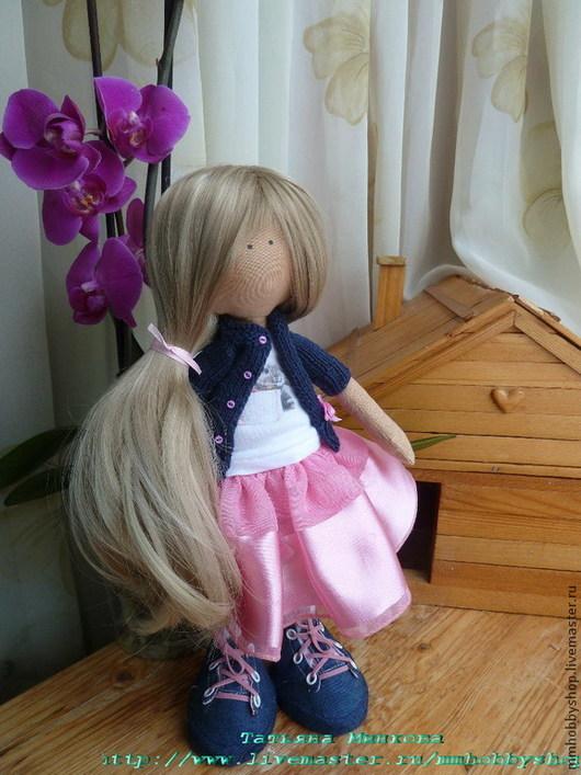 Коллекционные куклы ручной работы. Ярмарка Мастеров - ручная работа. Купить Интерьерная текстильная кукла.. Handmade. Кукла, конне, игрушка