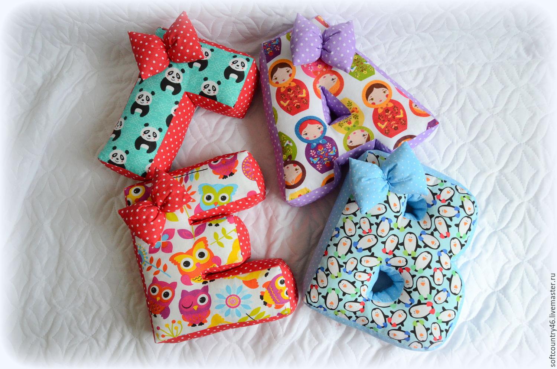 Буквы-подушки своими руками пошагово фото