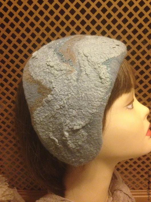 Шляпы ручной работы. Ярмарка Мастеров - ручная работа. Купить ПРЕДЗИМЬЕ. Handmade. Серый, аксессуары