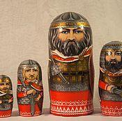 Русский стиль handmade. Livemaster - original item Matryoshka Russian heroes - 2. Handmade.