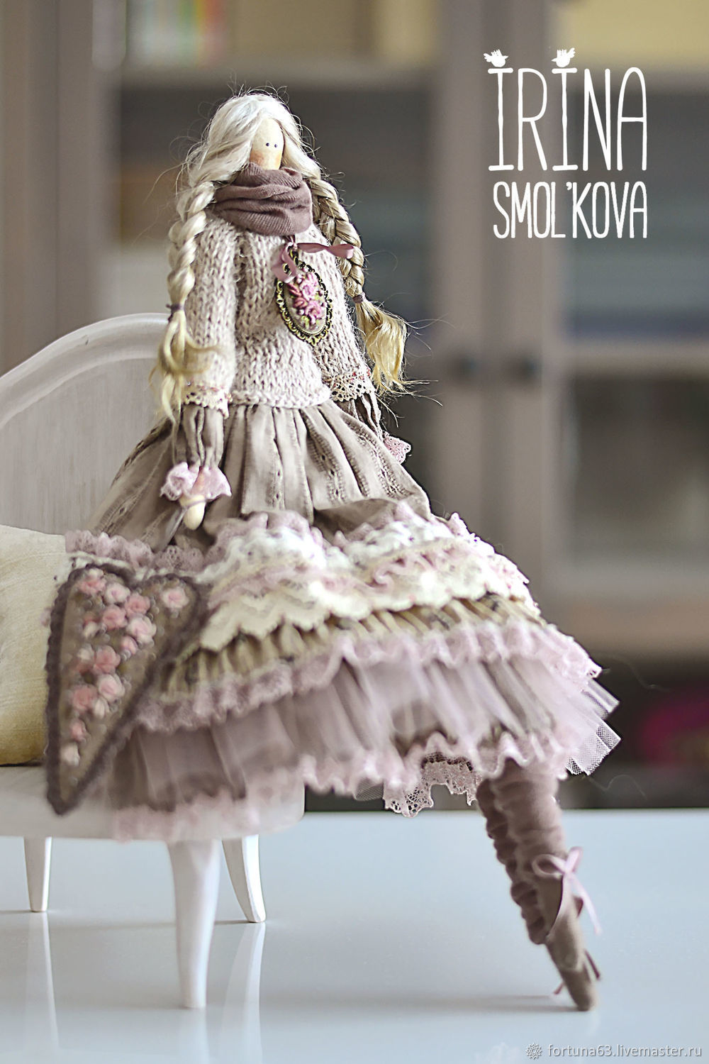 doll Tilda DOES – shop online on Livemaster with shipping ...
