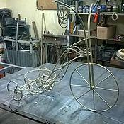 """Для дома и интерьера ручной работы. Ярмарка Мастеров - ручная работа Подставка для цветов """"Велосипед"""". Handmade."""