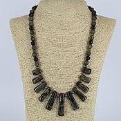 Украшения handmade. Livemaster - original item Necklace made of natural stones Jasper, serpentine,garnet. Handmade.