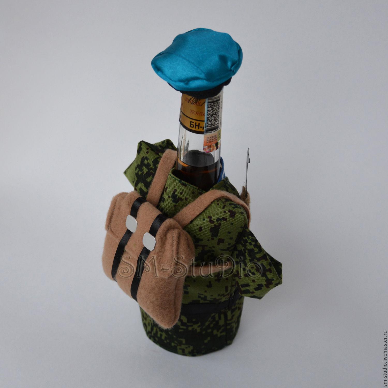 Подарок десантнику из конфет 21