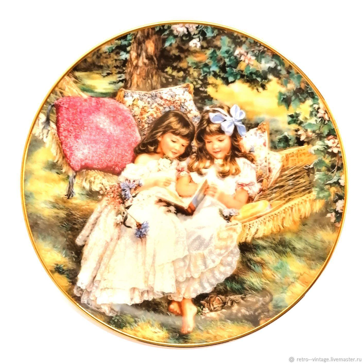 Porcelain/ decorative/wall plate, 1991, America, Vintage plates, Munster,  Фото №1