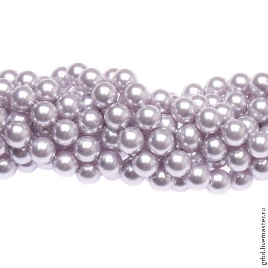 Для украшений ручной работы. Ярмарка Мастеров - ручная работа. Купить Жемчуг Сваровски 6 мм 5810 Lavender (06-524). Handmade.