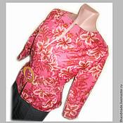 """Одежда ручной работы. Ярмарка Мастеров - ручная работа Жакет с поясом """"Летний вечер"""" стиль business casual. Handmade."""