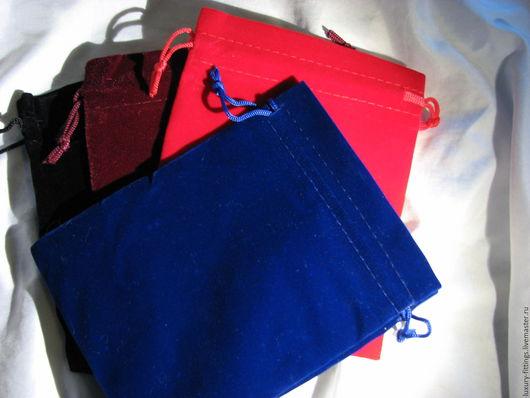 Упаковка ручной работы. Ярмарка Мастеров - ручная работа. Купить Бархатный мешочек 12х15 см. Handmade. Бархатный, бархатный мешочек