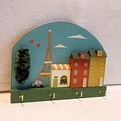 Ключница, домики, декор дома, Париж