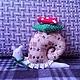 Куклы Тильды ручной работы. Ярмарка Мастеров - ручная работа. Купить Улитка тильда. Handmade. Улитка Тильда, тильда