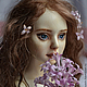 """Коллекционные куклы ручной работы. Шарнирная кукла """"Эми"""" (удочерили). Юлия Пучкина.    AliveDolls. Ярмарка Мастеров. Кукла, холодный фарфор"""