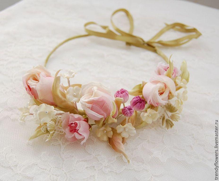 Цветы из шелка для невесты подарок однокласснице на 8 марта своими руками