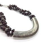 Украшения handmade. Livemaster - original item Necklace Garnet natural Springs. Handmade.