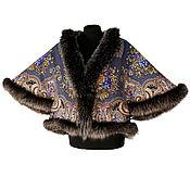 handmade. Livemaster - original item Jacket with fur trim. Handmade.